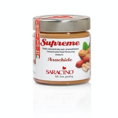Saracino Flavour Paste -PEANUT -Συμπυκνωμένη Πάστα Αράπικο φιστίκι - 200γρ