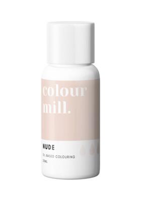 Colour Mill Oil Based Gel Colour -NUDE 20ml - Χρώμα Σοκολάτας σε Τζελ