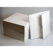 """Box 25cm (10"""") -Απλό Κουτί 25εκ με Ύψος 15εκ"""