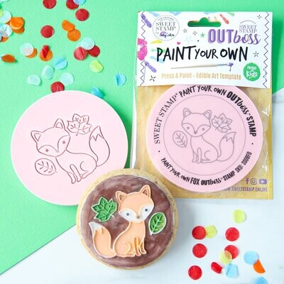 Sweet Stamp -Paint Your Own -FOX - Σφραγίδα Αλεπού