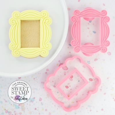 Sweet Stamp Cutter & Embosser -PHOTO FRAME - Κουπ Πατ και Σφραγίδα Κορνίζα