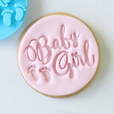 Sweet Stamp -Embosser -BABY GIRL - Σφραγίδα BABY GIRL