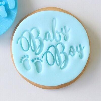 Sweet Stamp -Embosser -BABY BOY - Σφραγίδα Baby Boy