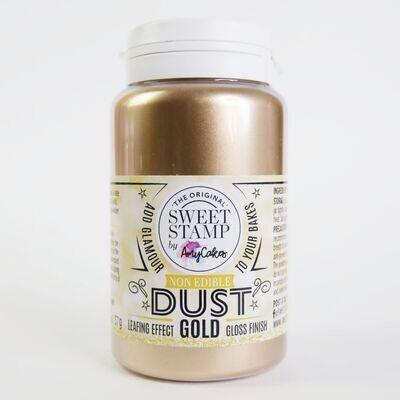 Sweet Stamp NON-EDIBLE Lustre Dust - GOLD -Χρυσή Σκόνη Διακόσμησης ΜΗ ΒΡΩΣΙΜΗ ΜΗ ΤΟΞΙΚΗ 28γρ