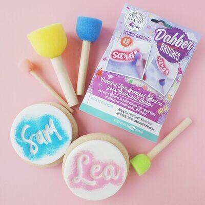 Sweet Stamp -Dabber Brushes 4τμχ - Πινέλα Σφουγγαράκια