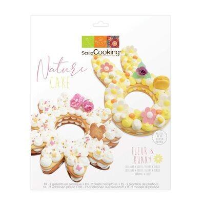 ScrapCooking Cake/Cookie Template -NATURE 2τμχ