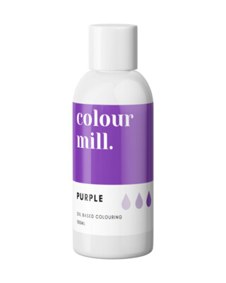 Colour Mill Oil Based Gel Colour -PURPLE 100ml - Χρώμα Σοκολάτας σε Τζελ Μωβ