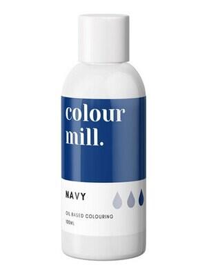 Colour Mill Oil Based Gel Colour -NAVY 100ml - Χρώμα Σοκολάτας σε Τζελ Ναυτικό Μπλε