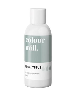 Colour Mill Oil Based Gel Colour -EUCALYPTUS 100ml - Χρώμα Σοκολάτας σε Τζελ Πράσινο του Ευκαλύπτου
