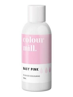 Colour Mill Oil Based Gel Colour -BABY PINK 100ml - Χρώμα Σοκολάτας σε Τζελ Απαλό Ροζ
