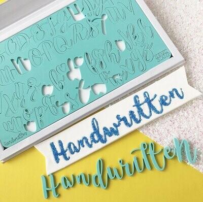 Sweet Stamp -Fonts -LARGE -HANDWRITTEN - Σφραγίδες Γράμματα μεγάλα HANDWRITTEN