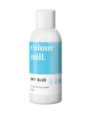 Colour Mill Oil Based Gel Colour -SKY BLUE 100ml - Χρώμα Σοκολάτας σε Τζελ Γαλάζιο