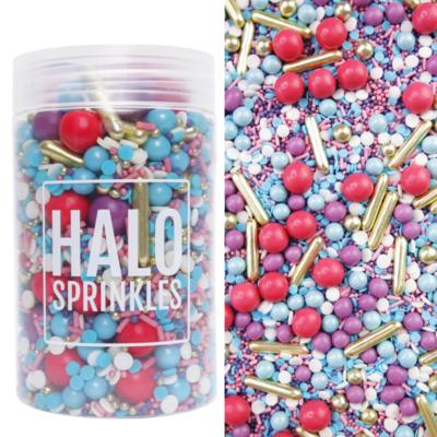 Halo Sprinkles 125γρ -SUGAR RUSH - Μείγμα Ζαχαρωτών σε Έντονες Αποχρώσεις