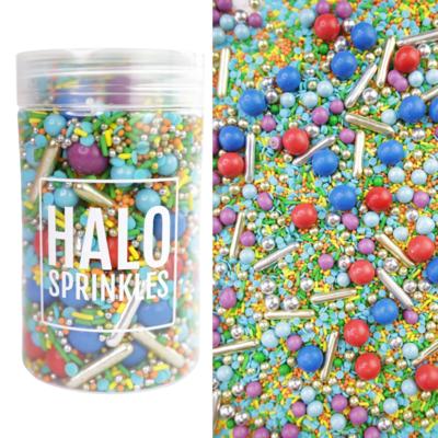 Halo Sprinkles 125γρ -CARNIVAL - Μείγμα  Ζαχαρωτών σε Έντονες Αποχρώσεις