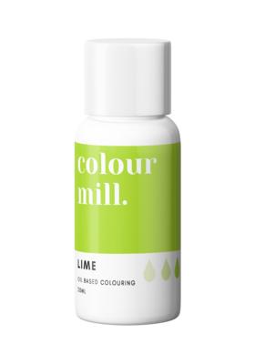 Colour Mill Oil Based Gel Colour -LIME 20ml - Χρώμα Σοκολάτας σε Τζελ Λάιμ