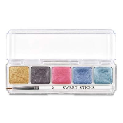 Sweet Sticks Water Activated Food Paint -Mini-Palette -UNICORN - Βρώσιμα Χρώματα ζωγραφικής (τέμπερες) UNICORN