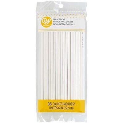 Wilton Lollipop Sticks 15cm, pk/35 - Χάρτινα Στικάκια 15εκ