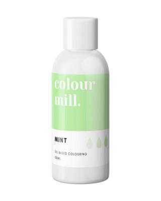 Colour Mill Oil Based Gel Colour -MINT 100ml - Χρώμα Σοκολάτας σε Τζελ Μέντα