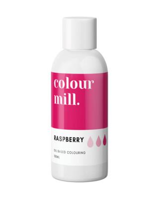 Colour Mill Oil Based Gel Colour -RASPBERRY 100ml - Χρώμα Σοκολάτας σε Τζελ Φούξια