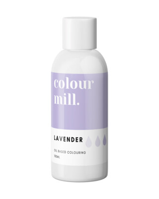Colour Mill Oil Based Gel Colour -LAVENDER 100ml - Χρώμα Σοκολάτας σε Τζελ Μωβ