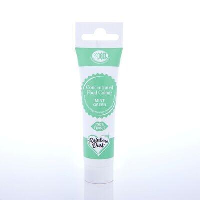 Rainbow Dust ProGel® -MINT GREEN -Χρώμα Τζελ  Πράσινο της Μέντας 25γρ