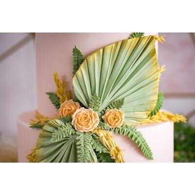 Karen Davies Silicone Mould -PALM SPEAR - Καλούπι Σιλικόνης Φύλλα Φοίνικα