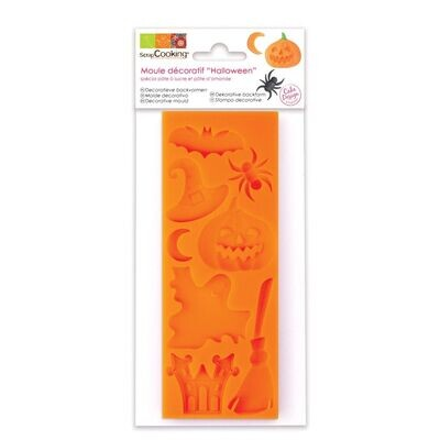 Scrapcooking Silicone Mould -HALLOWEEN - Καλούπι Σιλικόνης