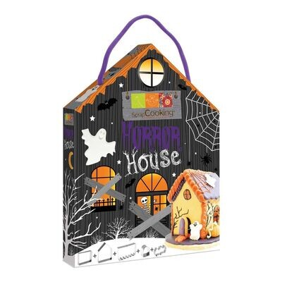 Scrapcooking Cookie Cutter Set Horror Gingerbread House