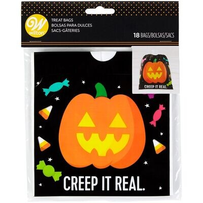 Wilton Halloween Treat Bags PUMPKIN  18τεμ