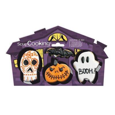 Scrapcooking Cookie Cutter Halloween 4 τμχ