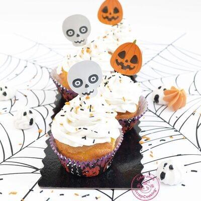 ScrapCooking Baking Cups & Toppers 24Τμχ -HALLOWEEN - Θήκες Ψησίματος και Τόπερ Halloween