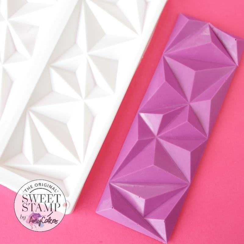 Sweet Stamp Geometric Bar Mould