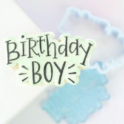 Sweet Stamp -OUTboss Stamp 'n Cut -BIRTHDAY BOY