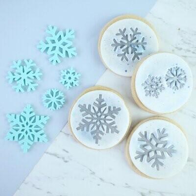 Sweet Stamp -Embosser -SNOWFLAKES - Σφραγίδα
