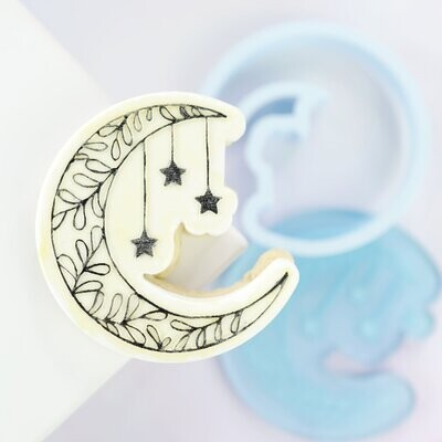 Sweet Stamp -OUTboss Stamp 'n Cut -MOON