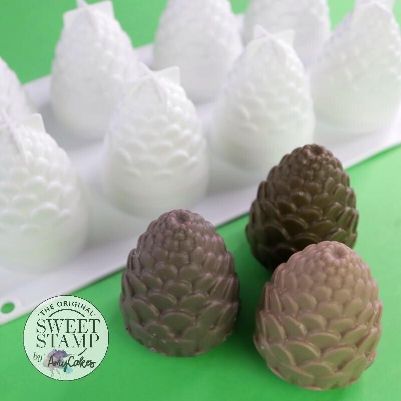 Sweet Stamp Cake Popsicle Mould -PINE CONES/DRAGON EGGS