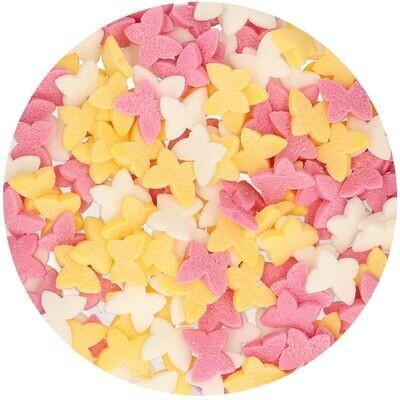 FunCakes Sprinkles -BUTTERFLY MIX 50γρ - Μείγμα Ζαχαρωτών Πεταλουδίτσες