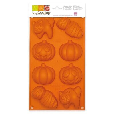 Scrapcooking Silicone Baking Mould -HALLOWEEN - Καλούπι Σιλικόνης