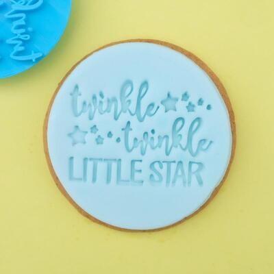 Sweet Stamp -Embosser -TWINKLE LITTLE STAR - Σφραγίδα TWINKLE LITTLE STAR