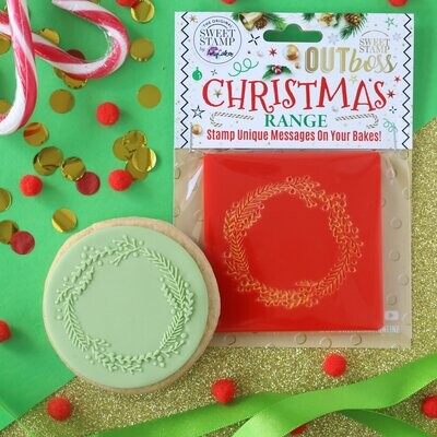 Sweet Stamp -OUTboss Christmas -WREATH Σφραγίδα