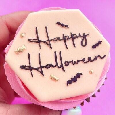 Sweet Stamp -OUTboss Halloween - HAPPY HALLOWEEN - Σφραγίδα HAPPY HALLOWEEN