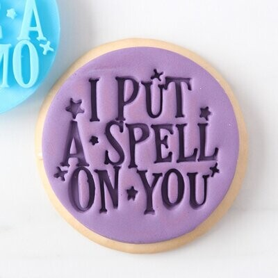 Sweet Stamp -Embosser Halloween -I PUT A SPELL ON YOU - Σφραγίδα Halloween