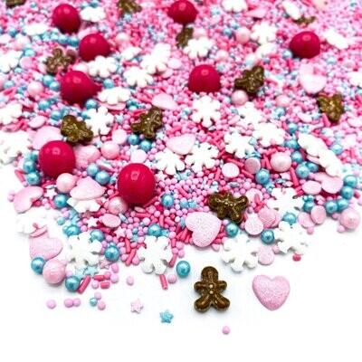 Happy Sprinkles Mix -CANDY LAND 90g - Χριστουγεννιάτικο Μείγμα Ζαχαρωτών