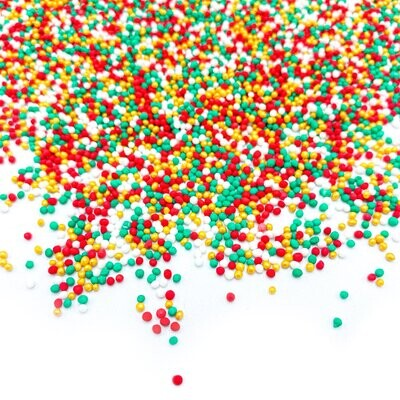 Happy Sprinkles - Nonpareils Simplicity -SWEET 'n CHRISTMAS 90g - Κας-Κας