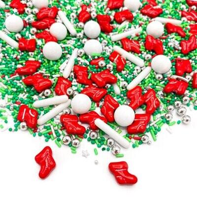 Happy Sprinkles Mix -CHRISTMAS STOCKINGS 90g - Χριστουγεννιάτικο Μείγμα Ζαχαρωτών