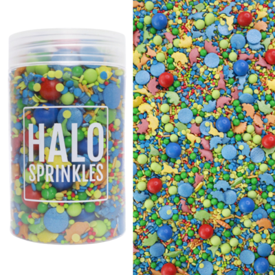 Halo Sprinkles 125γρ -DINO ROAR - Μείγμα Ζαχαρωτών Δεινόσαυρος