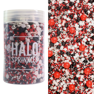 Halo Sprinkles 125γρ -CRIME SCENE - Μείγμα Ζαχαρωτών με ματωμένα κόκκαλα