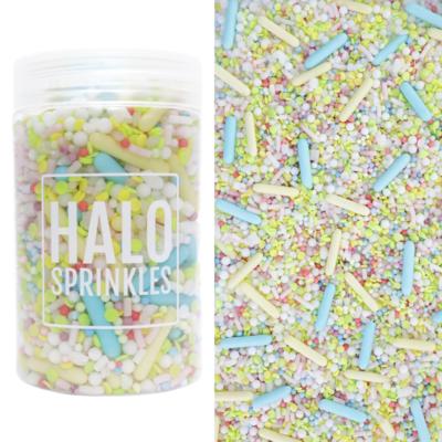 Halo Sprinkles 125γρ - SHERBET FIZZ - Μείγμα Ζαχαρωτών σε Παστέλ Αποχρώσεις
