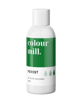Colour Mill Oil Based Gel Colour -FOREST 100ml - Χρώμα Σοκολάτας σε Τζελ Πράσινο του Δάσους