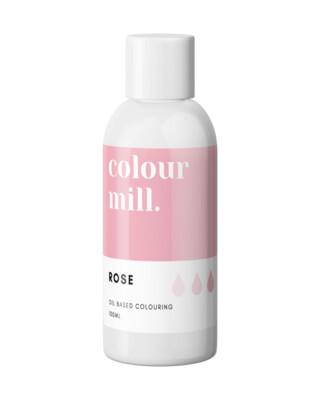 Colour Mill Oil Based Gel Colour -ROSE 100ml - Χρώμα Σοκολάτας σε Τζελ Ροζ
